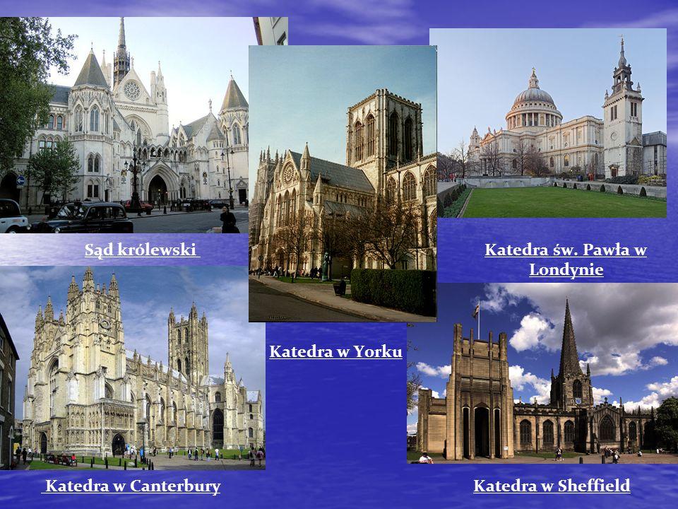 Sąd królewski Katedra św. Pawła w