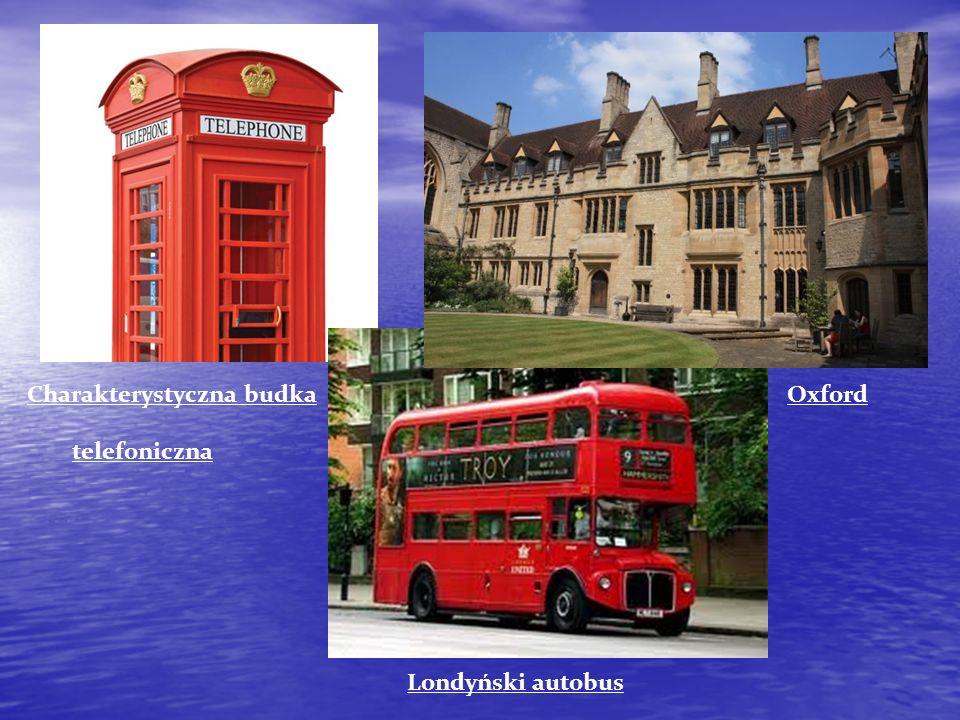 Charakterystyczna budka Oxford