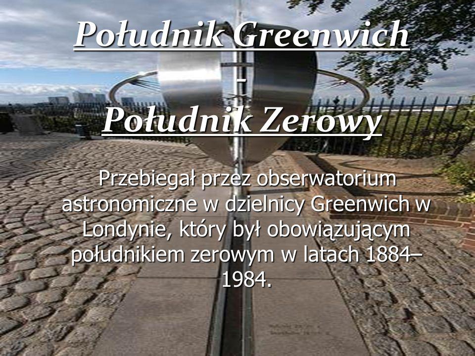 Południk Greenwich - Południk Zerowy