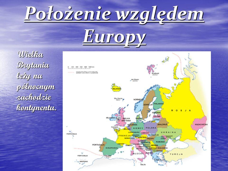 Położenie względem Europy