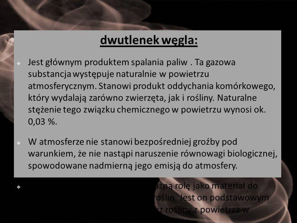 dwutlenek węgla: