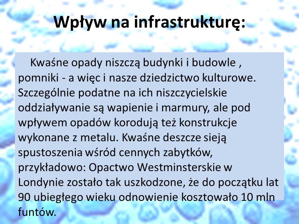 Wpływ na infrastrukturę: