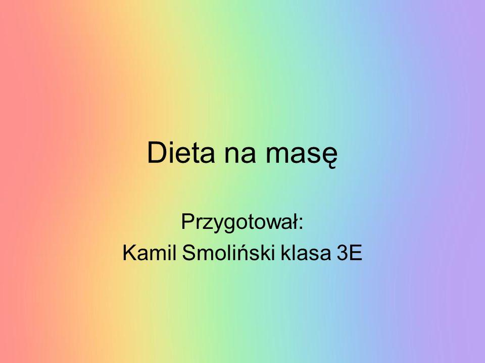 Przygotował: Kamil Smoliński klasa 3E