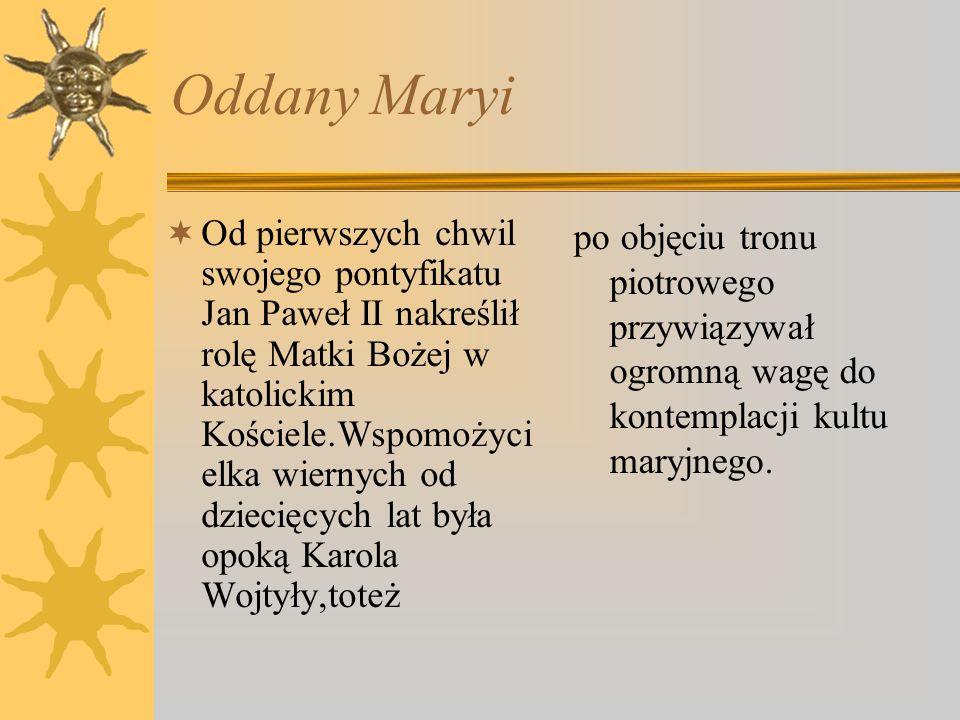 Oddany Maryi