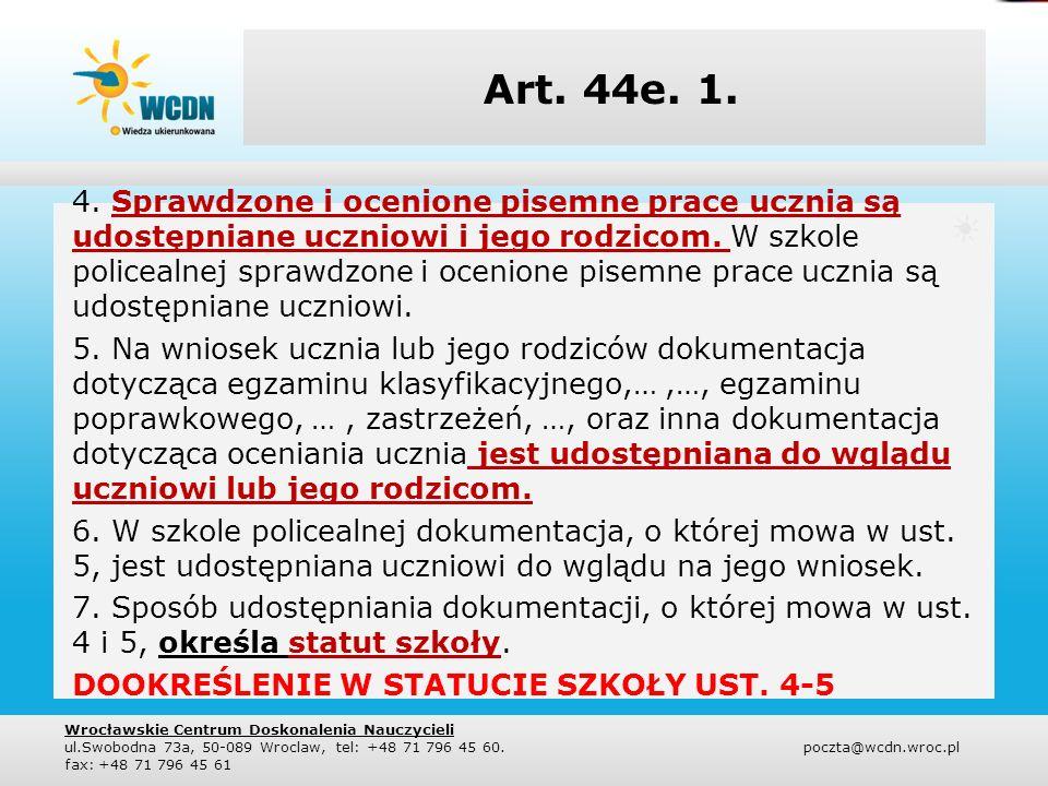 Art. 44e. 1.