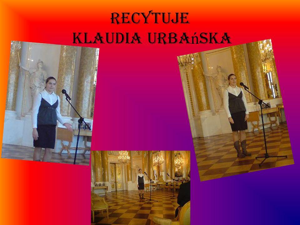 RECYTUJE Klaudia Urbańska