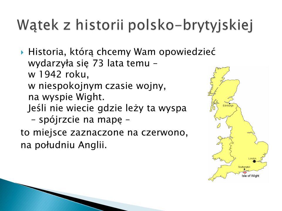Wątek z historii polsko-brytyjskiej