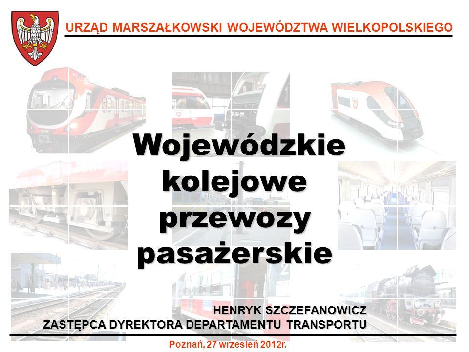 Wojewódzkie kolejowe przewozy pasażerskie