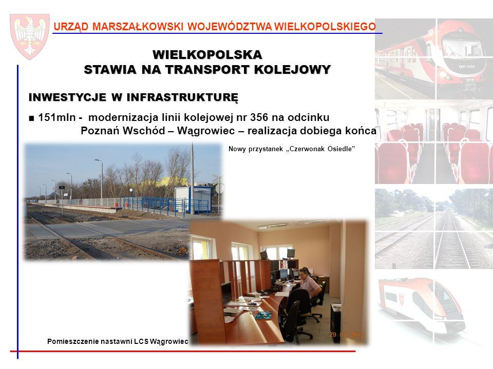 WIELKOPOLSKA STAWIA NA TRANSPORT KOLEJOWY