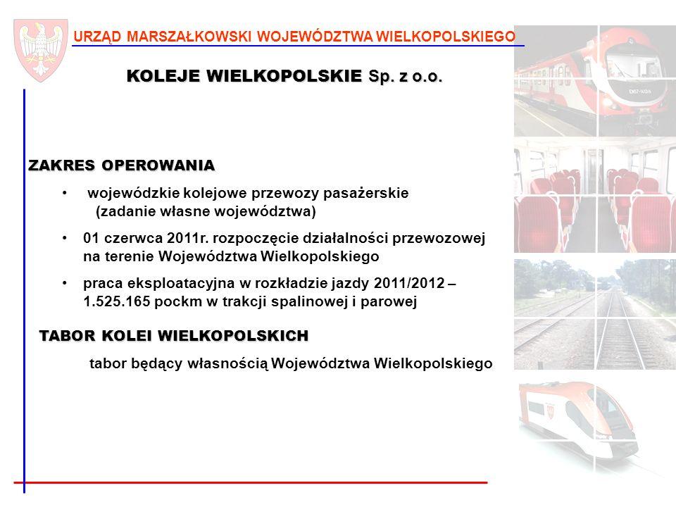 KOLEJE WIELKOPOLSKIE Sp. z o.o.