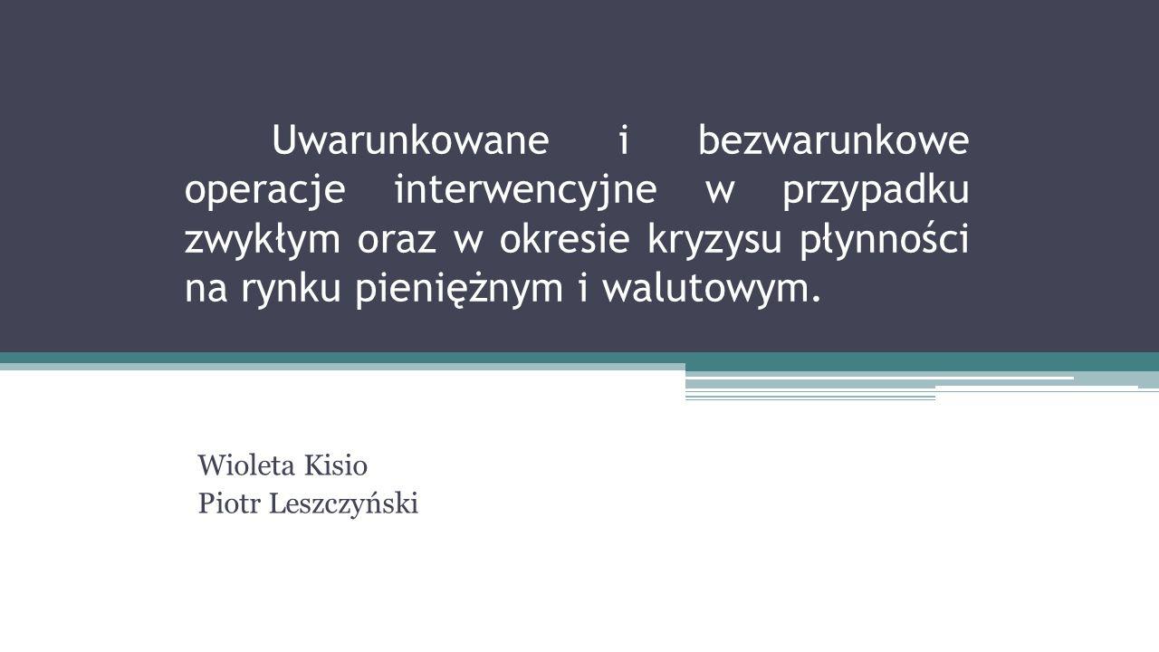 Wioleta Kisio Piotr Leszczyński