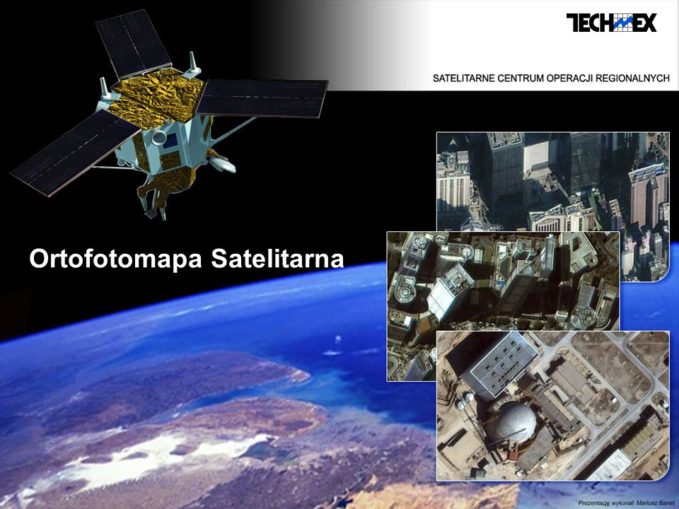 Ortofotomapa Satelitarna