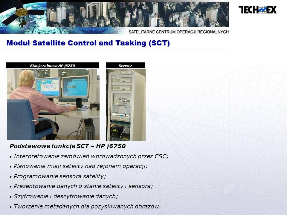 Moduł Satellite Control and Tasking (SCT)