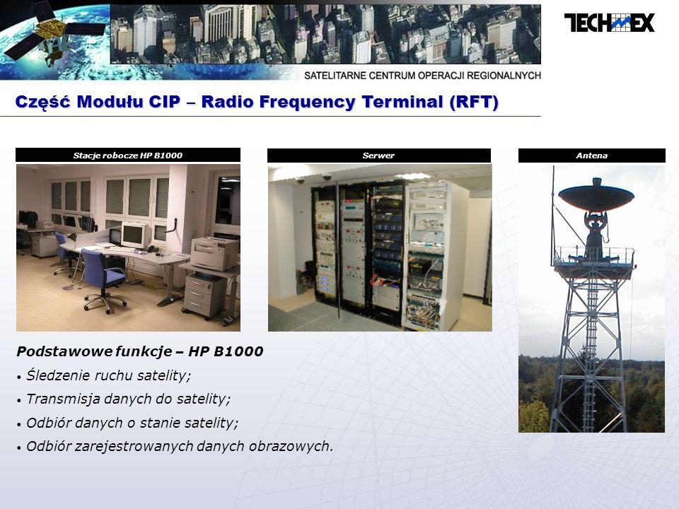 Część Modułu CIP – Radio Frequency Terminal (RFT)