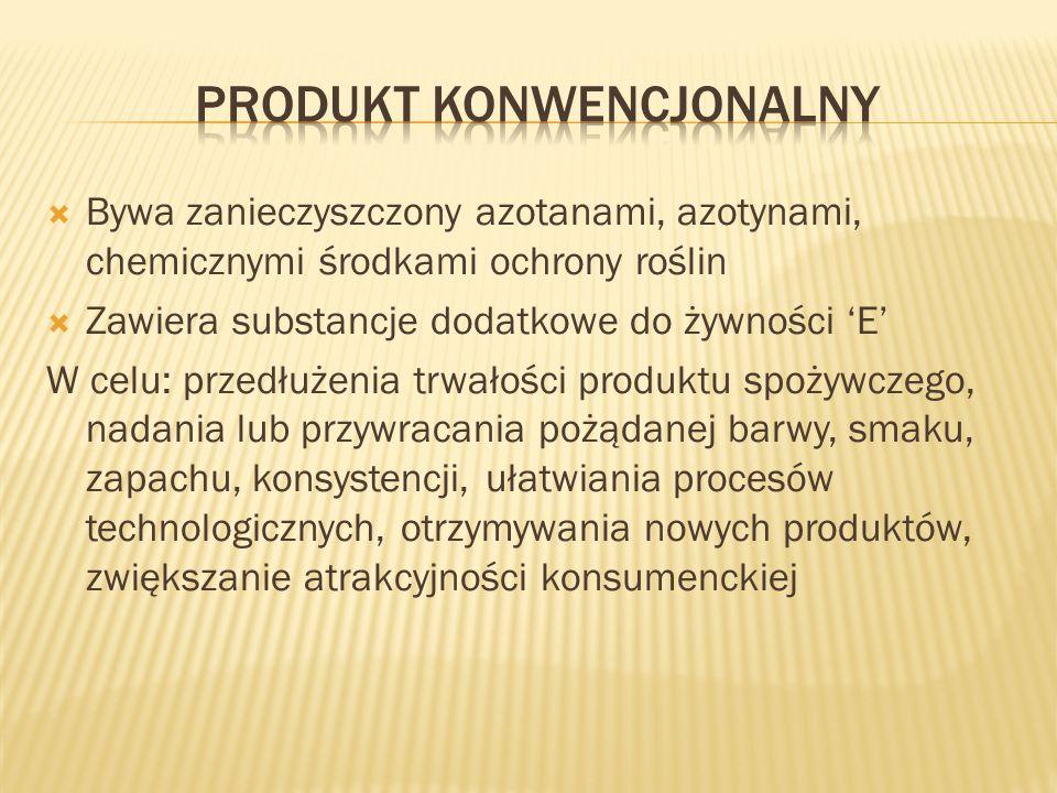 Produkt konwencjonalny