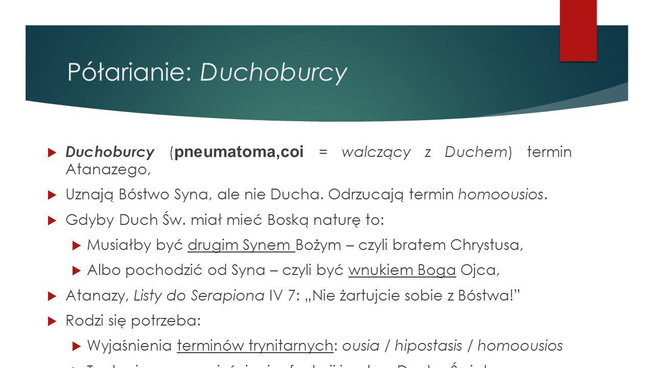 Półarianie: Duchoburcy