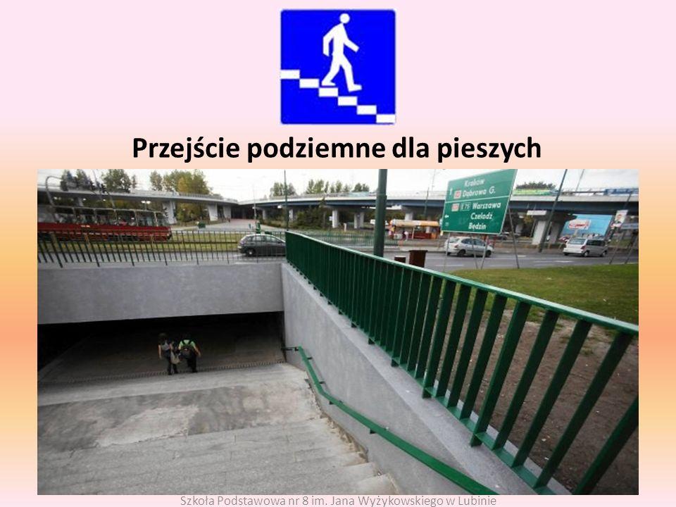 Przejście podziemne dla pieszych
