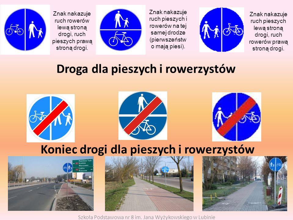 Droga dla pieszych i rowerzystów