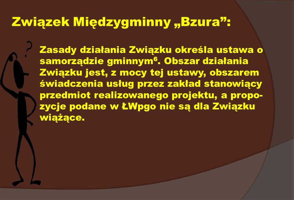 """Związek Międzygminny """"Bzura :"""
