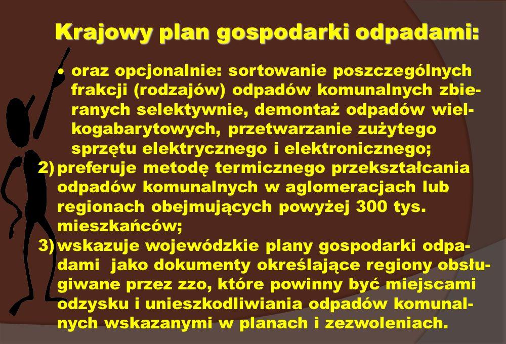 Krajowy plan gospodarki odpadami: