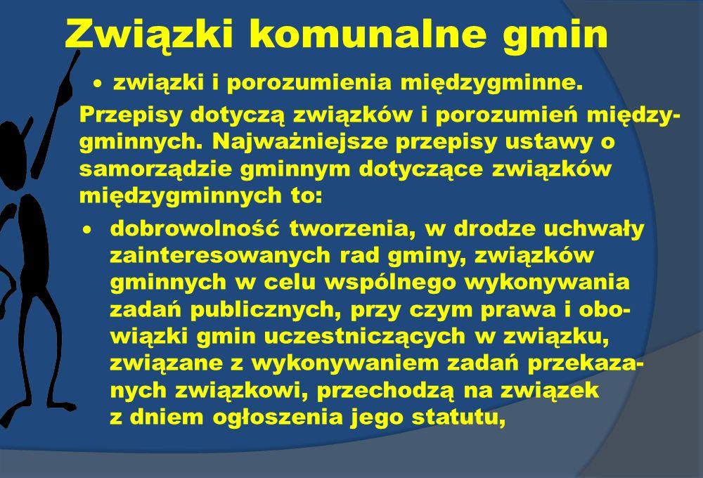 Związki komunalne gmin