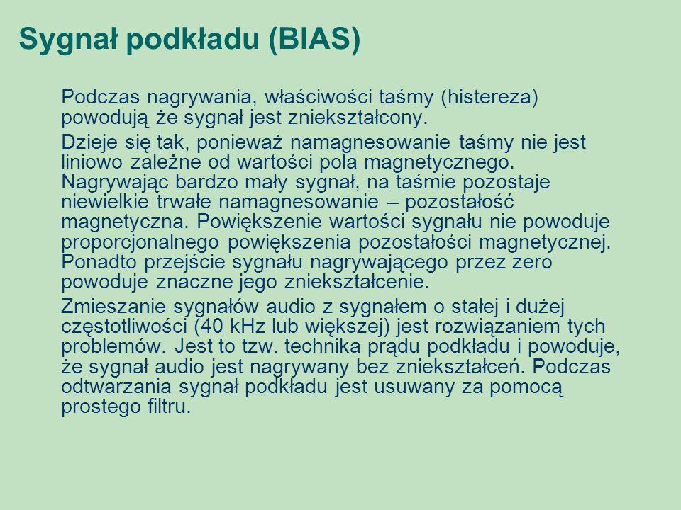 Sygnał podkładu (BIAS)
