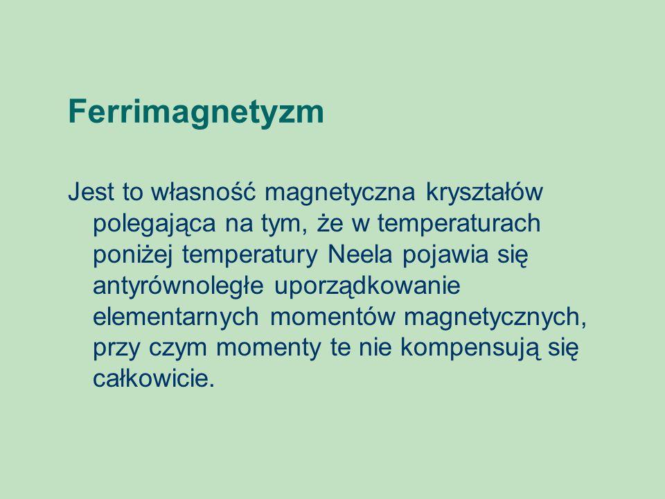 Ferrimagnetyzm