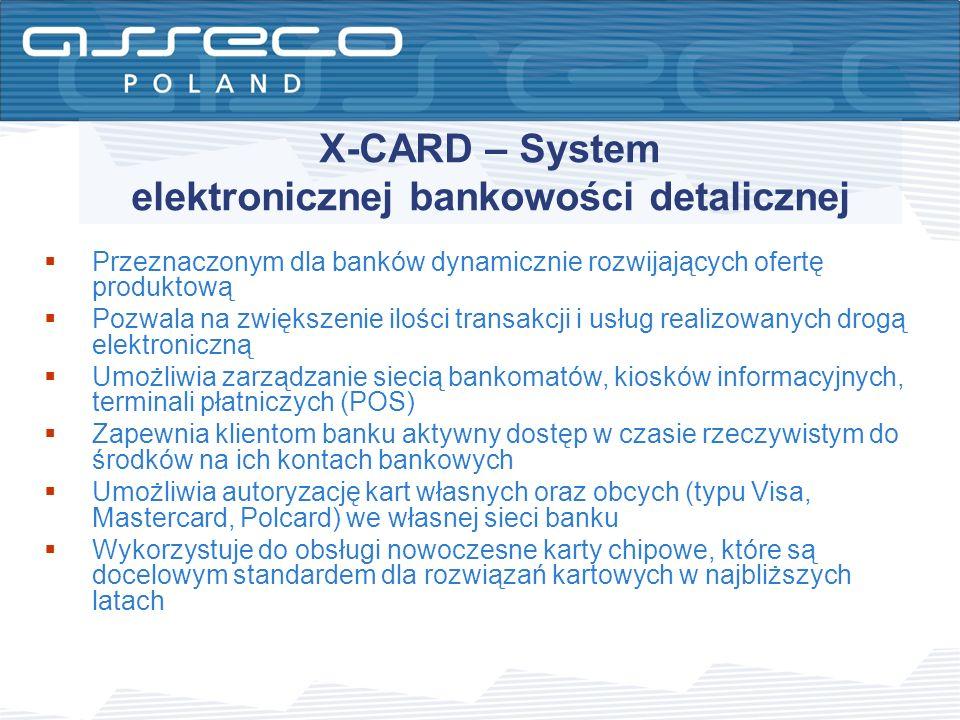 X-CARD – System elektronicznej bankowości detalicznej