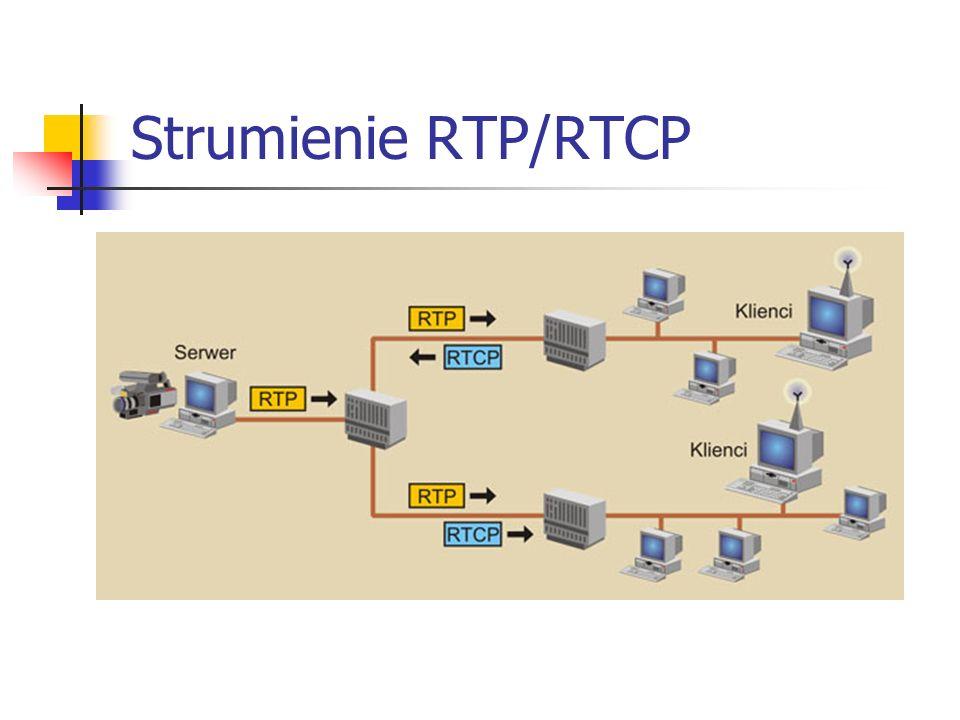 Strumienie RTP/RTCP