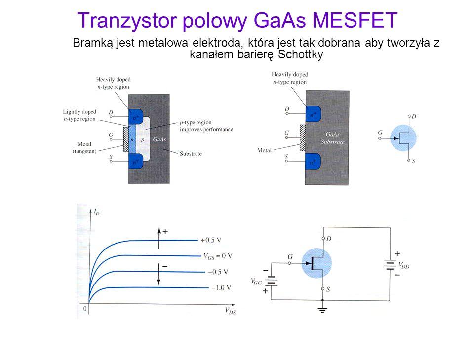 Tranzystor polowy GaAs MESFET