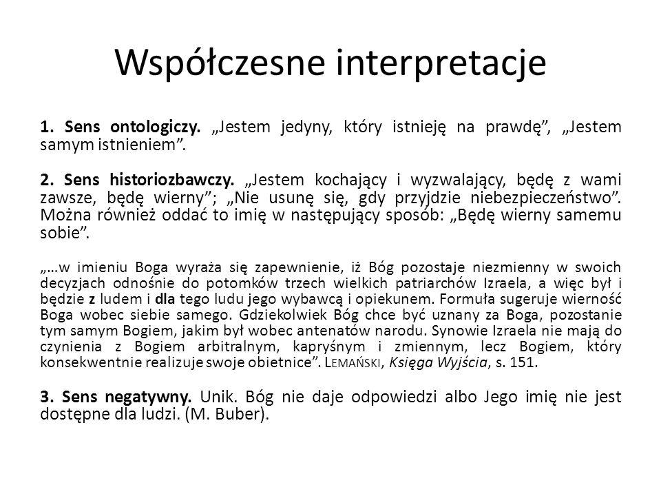Współczesne interpretacje
