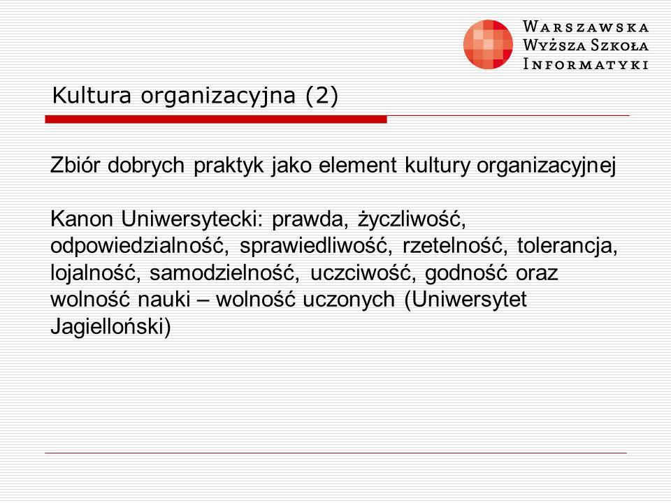 Kultura organizacyjna (2)
