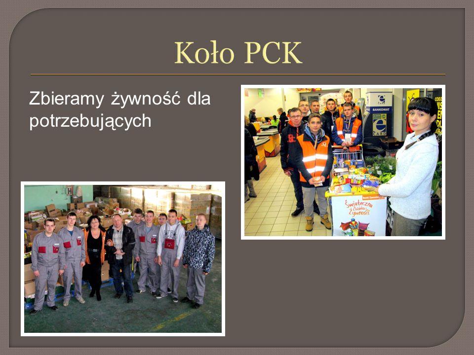 Koło PCK Zbieramy żywność dla potrzebujących