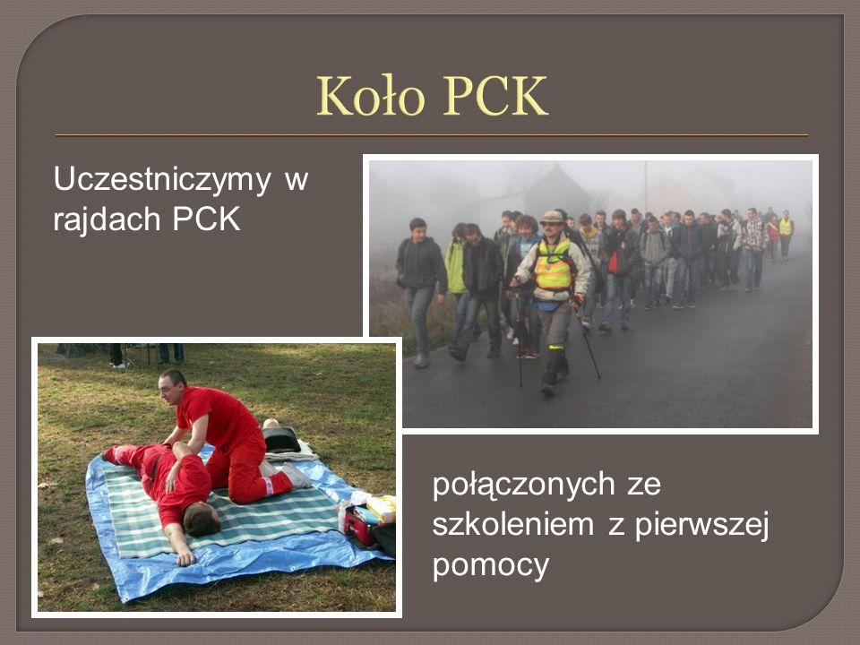 Koło PCK Uczestniczymy w rajdach PCK