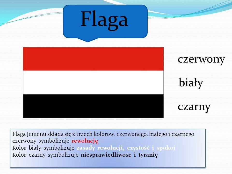 Flaga czerwony biały czarny