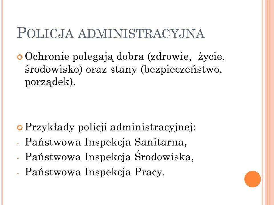 Policja administracyjna