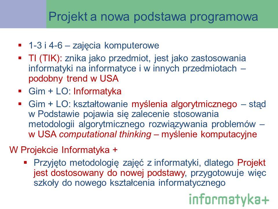 Projekt a nowa podstawa programowa