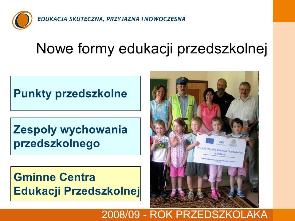 Nowe formy edukacji przedszkolnej czerwiec 2008
