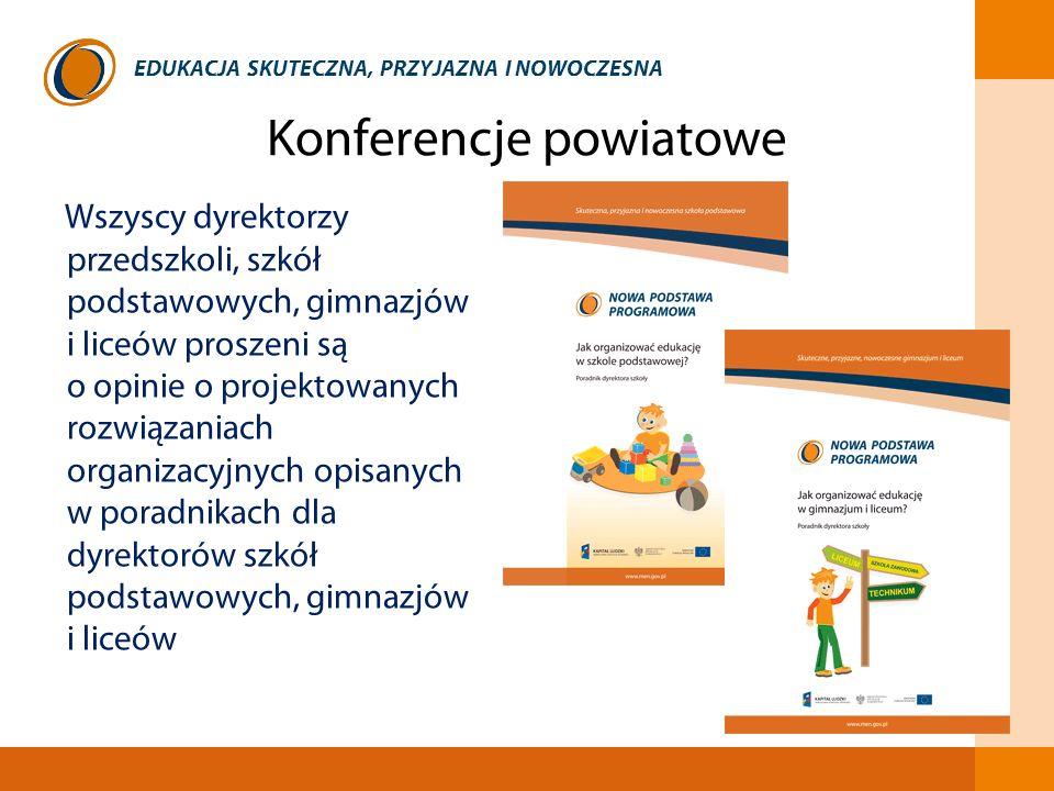 Konferencje powiatowe