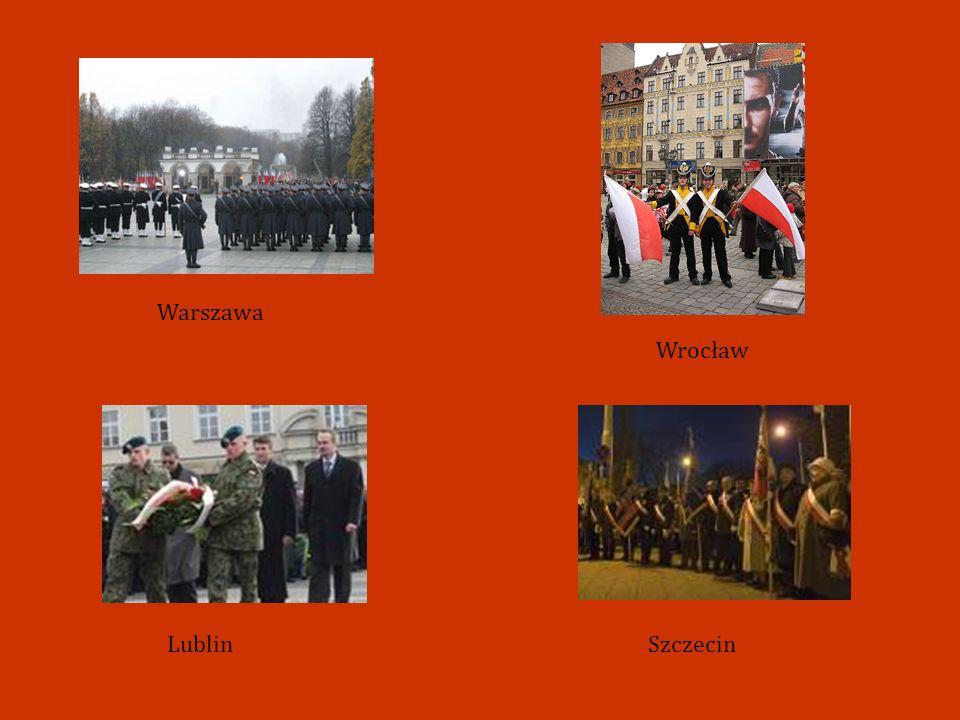 Warszawa Wrocław Lublin Szczecin