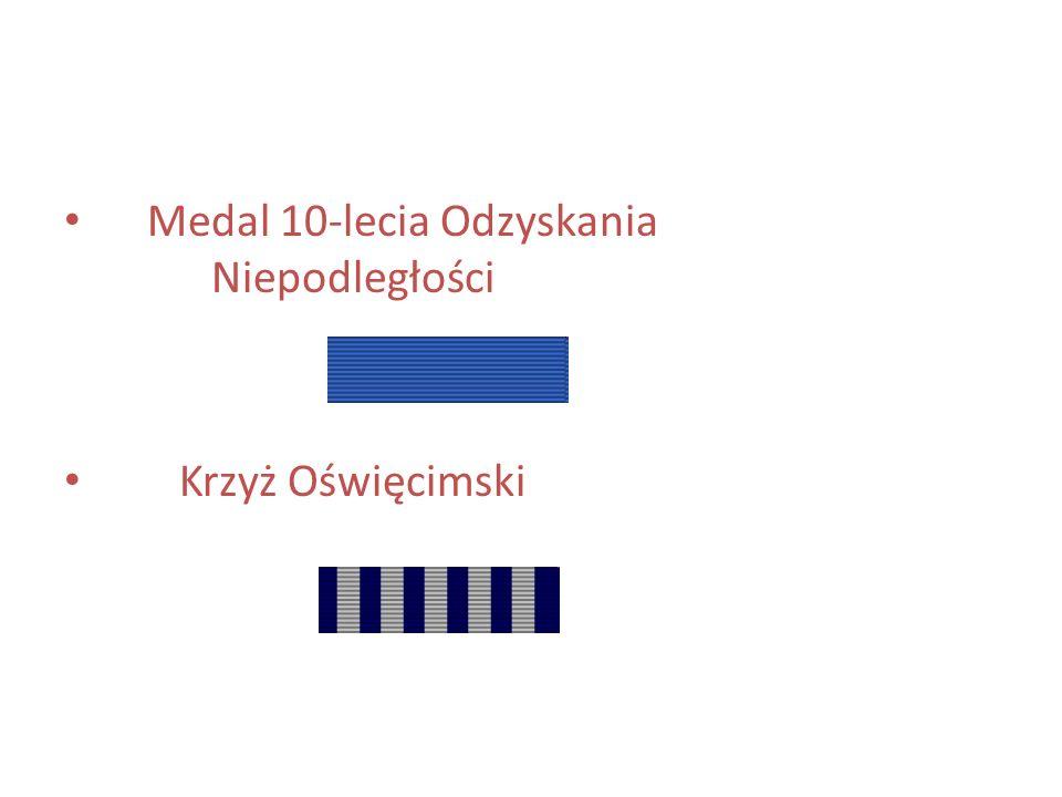 Medal 10-lecia Odzyskania Niepodległości
