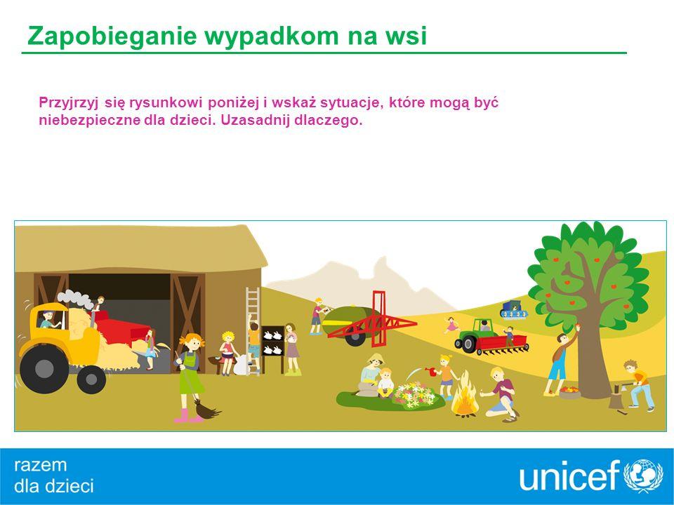 Zapobieganie wypadkom na wsi