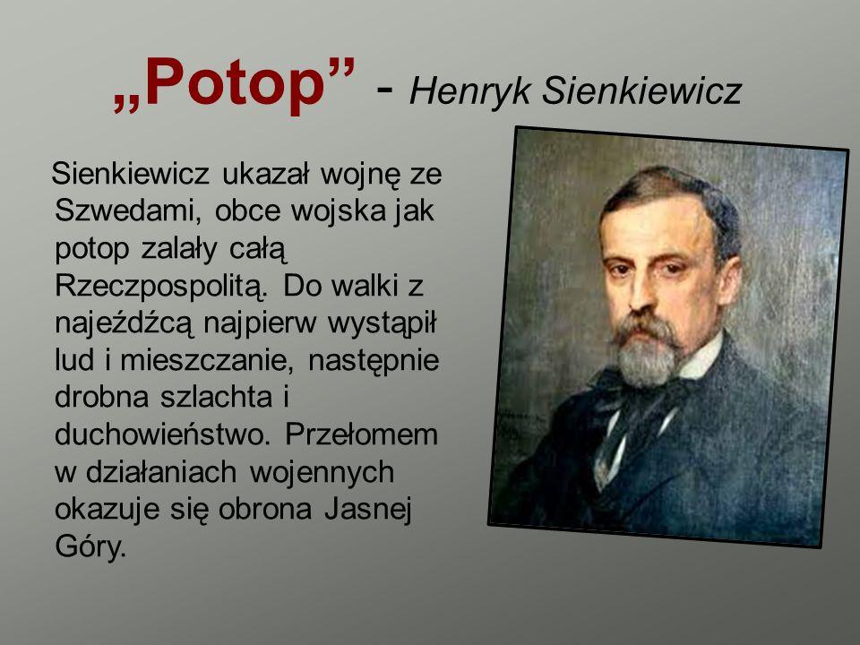 """""""Potop - Henryk Sienkiewicz"""