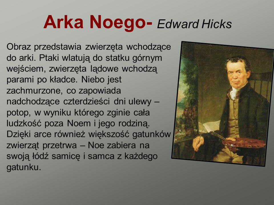 Arka Noego- Edward Hicks