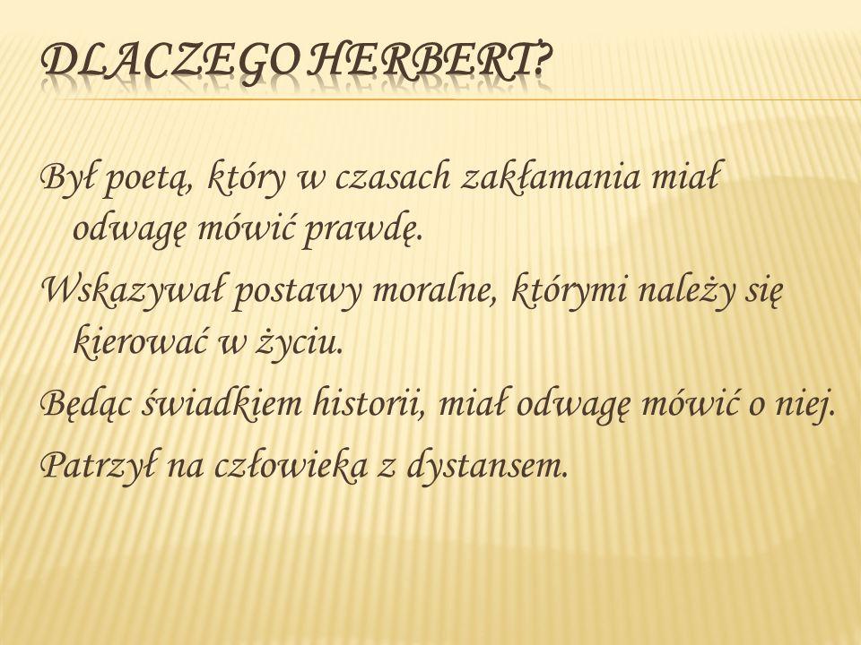 Dlaczego Herbert