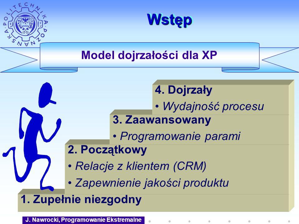 Model dojrzałości dla XP