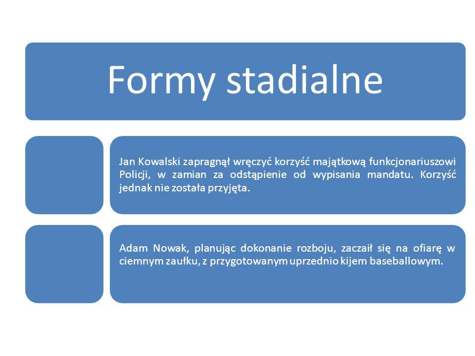 Formy stadialne