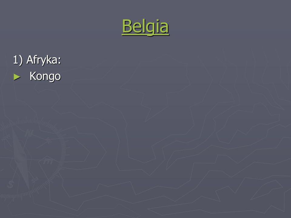 Belgia 1) Afryka: Kongo