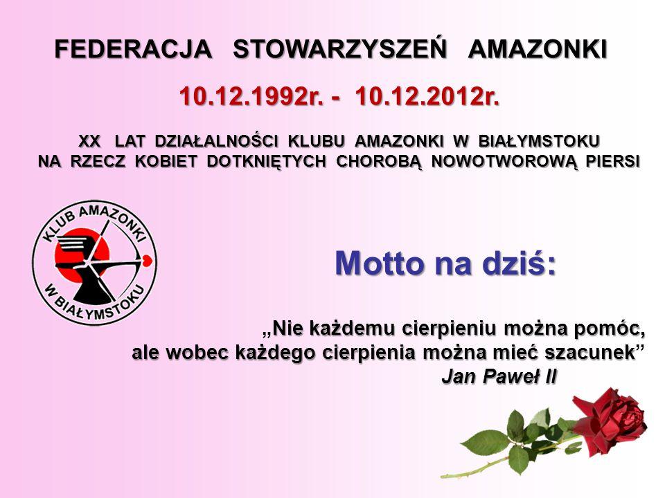 XV-lecie Klubu Amazonki w Białymstoku