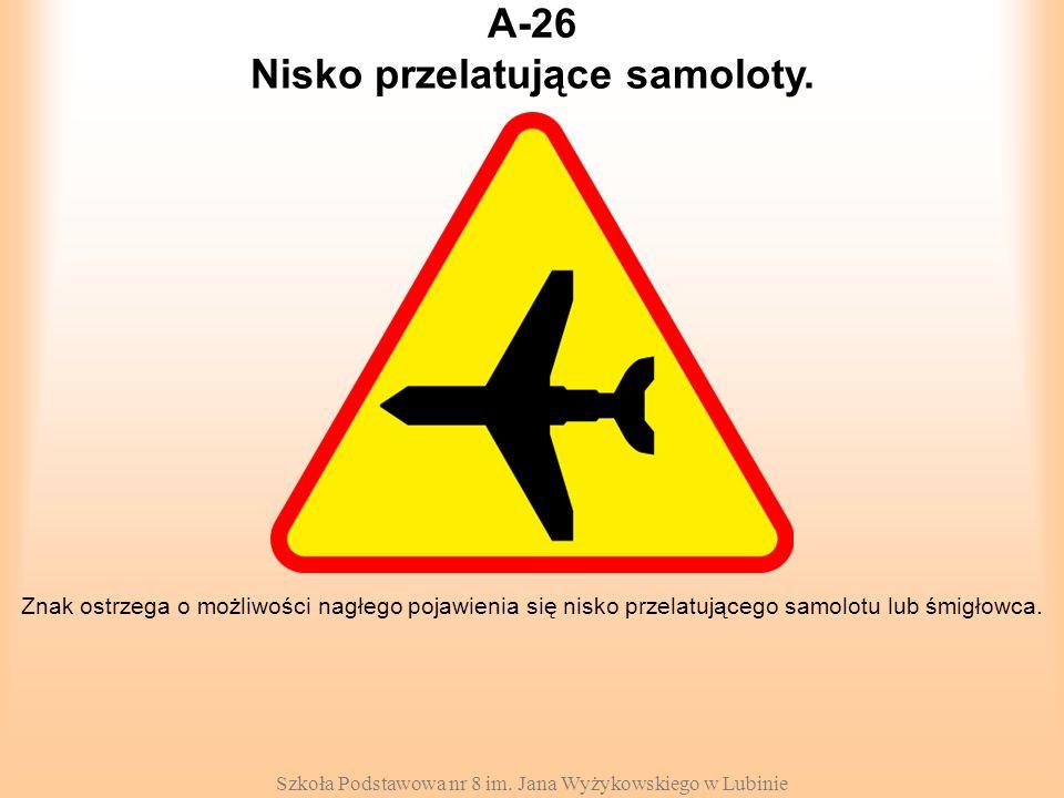 Nisko przelatujące samoloty.
